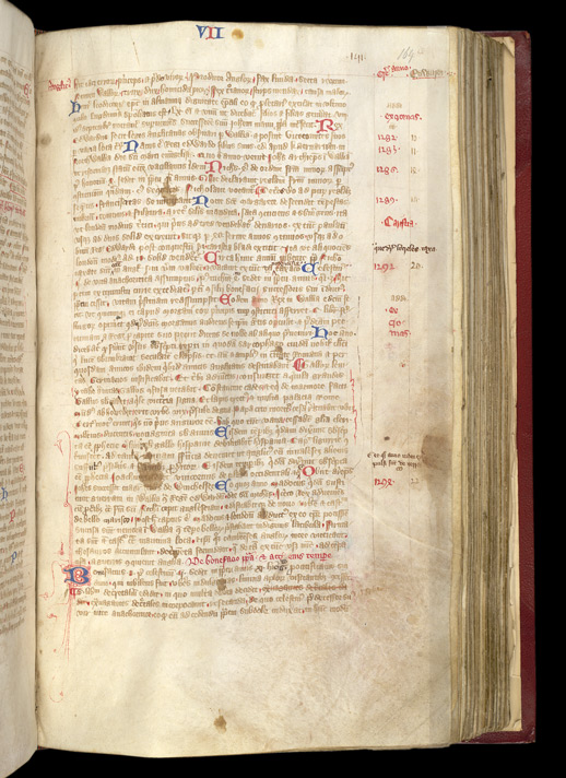 Norwich Annotation, In A Volume Containing Ranulf Higden's 'Polychronicon', And Other Works